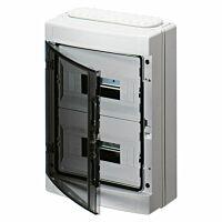 40 CDK Moduulikotelo IP65, pinta-asennus Varustettu  aihiolaipalla ja kalvotiivistelaipalla